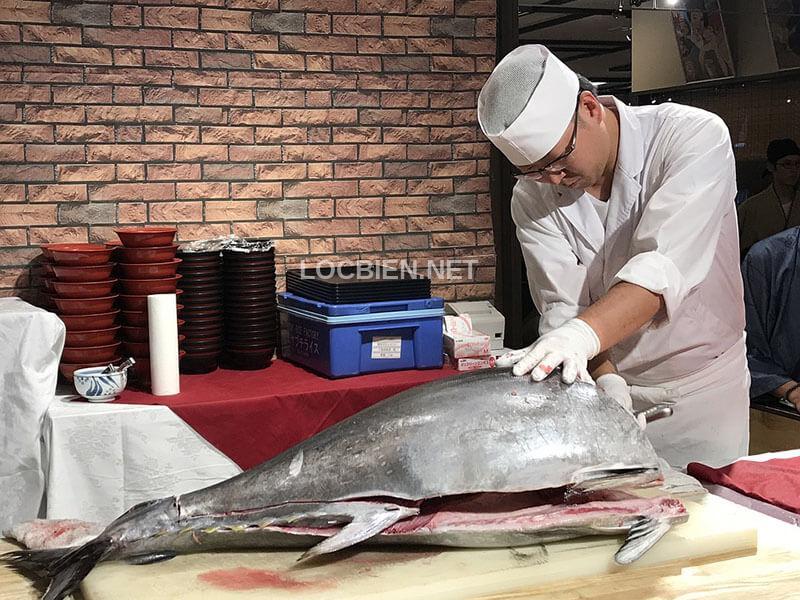 giá bán cá ngừ đại dương