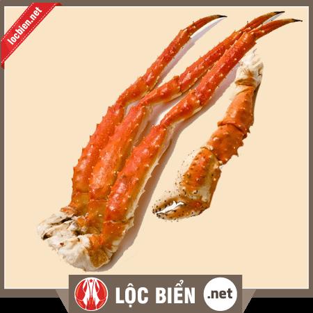Chân king crab hấp chín